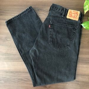 Levi's 505 Vintage Red Tag Straight Leg Jeans